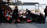 Sergio Perez fastest on 'extreme' soft tyres
