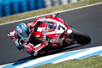lr Carlos Checa seals the tenth Superpole of his wsbk career Phillip Is 344x231 Carlos Checa fastest in WSBK warm up