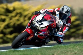 lr Jamie Stauffer Honda PI Test Feb 18 344x229 Aussie Superbike wildcards in the mix at Phillip Island