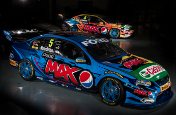 FIRST PICS: Ford Performance Racing reveals Pepsi Max Falcons