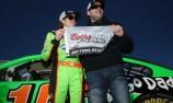 Danica Patrick makes NASCAR history by taking Daytona pole