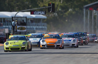 International recruits for Carrera Cup Rennsport event