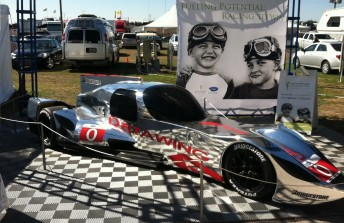 The unique DeltaWing Coupe