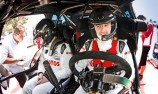 Robert Kubica crashes while holding big rally lead