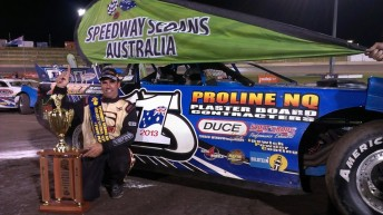New Australian Super Sedan Champion, Matt Pascoe