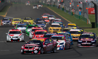 Race 2 344x207 Coulthard doubles up with Race 2 win at Albert Park