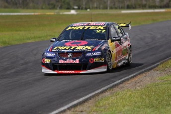 Casey Stoner's Holden at Queensland Raceway
