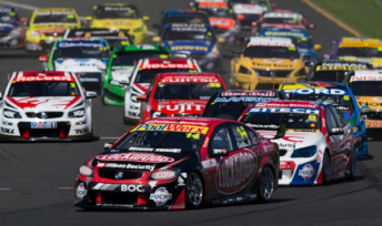 Kiwi drivers, including Fabian Coulthard, have won five the the six V8 Supercars races held so far in 2013
