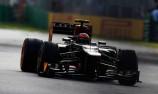 Grosjean fastest as rain hits in F1 Practice 3