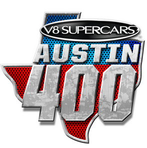 The Austin 400 event logo