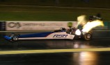 The Pom wins, Dixon spins in Willowbank Top Fuel 1