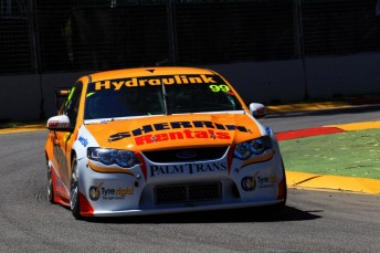 Chaz Mostert on his way to victory in the Sherrin Ford in Adelaide