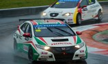 Castrol Honda World Touring Car Team secure season's first podium with Tarquini taking 3rd