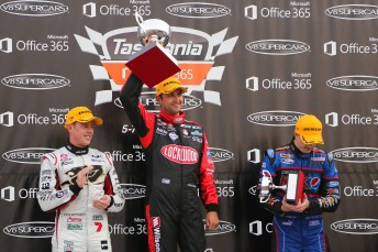 Race 5 podium 344x229 Coulthard denies Winterbottom in Symmons finale