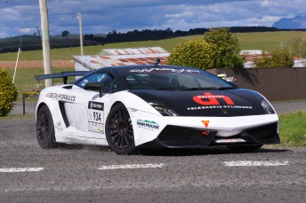 Jason White is just one day away from his fourth Targa Tasmania title