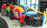 VIDEO: Kyle Busch NASCAR wrap time lapse