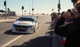 V8 Supercar undertakes Mackay street run