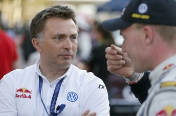Volkswagen Motorsport director Jost Capito is looking toward a brighter future for the WRC