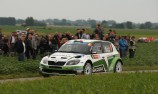 Freddy Loix leads Ypres as Hayden Paddon shines