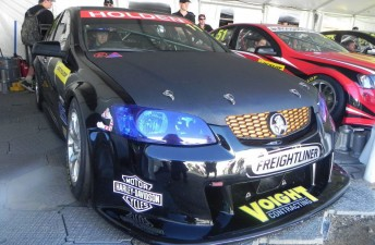 Justin Garioch will drive the #11 Holden usually campaigned by Aaron Tebb