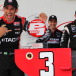 Helio Castroneves wins pole but will start 11th at Iowa