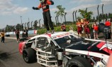 Aussie Josh Burdon wins Euro NASCAR biff fest