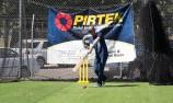 VIDEO: Stoner and Percat test cricket skills