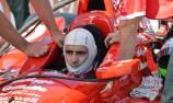 IndyCar backflip on Franchitti penalty