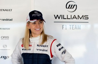 Susie Wolff debuts as Silverstone test ends