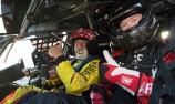 Speedway legend Jason Crump enjoys V8 ride