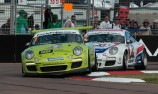 Baird completes hat-trick in Carrera Cup blitz