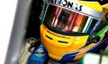 Lewis Hamilton jets to surprise Spa pole