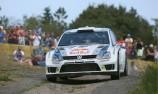 Ogier crashes in Germany as Latvala steps up