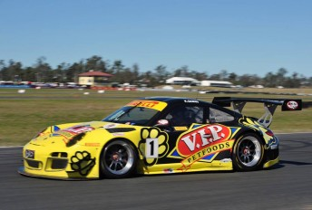 Klark Quinn added a second win to his Race 2 success