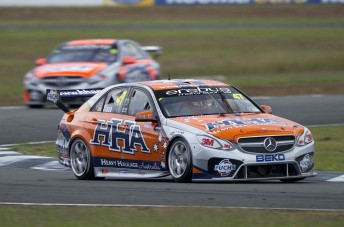 Tim Slade has enjoyed an increasingly competitive E63 AMG in recent events