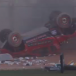 VIDEO: Offroad rollover at Rally Australia