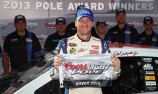 Earnhardt Jr. on pole at Dover