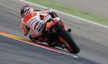 Marquez digs deep to snatch Aragon pole