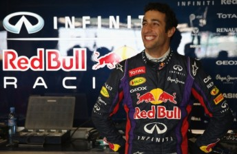 CONFIRMED: Ricciardo gets Red Bull seat in 2014