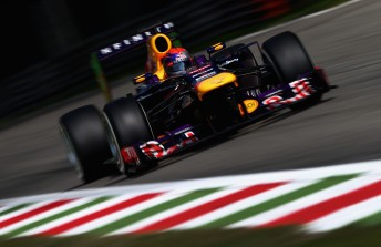 Sebastian Vettel charges to another victory