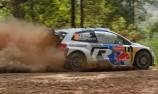 Ogier leads as Quinn realises WRC dream