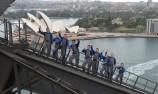 VIDEO: WRC stars climb Sydney Harbour Bridge