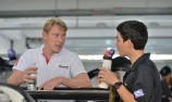Chinese driver unfazed by Erebus debut with Hakkinen