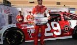 Harvick takes first pole in seven years