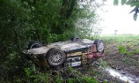 Loeb crashes out on final WRC event