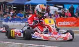 Patrizi on the pace at Race of Stars