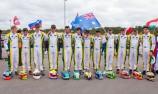 Australia on the podium at Rotax 'Worlds'
