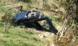 Targa crew escape helicopter crash