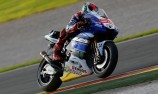 Lorenzo tops opening Valencia test day