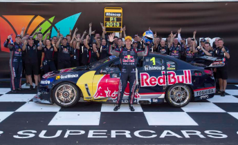 Jamie Whincup Champion 344x210 Whincup secures title as Van Gisbergen wins
